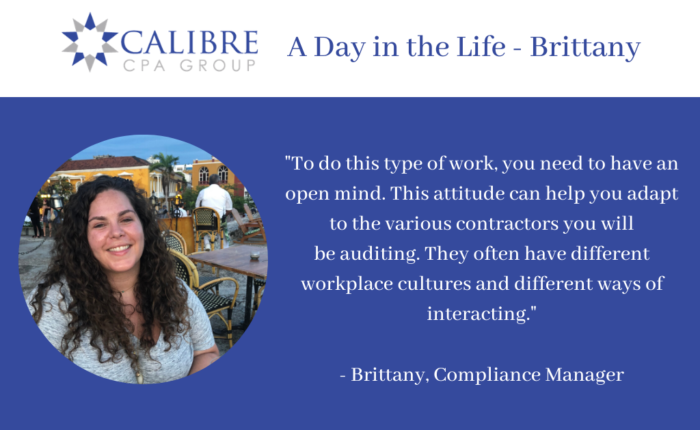 A Day in the Life - Brittany, Compliance Manager - Calibre CPA Group