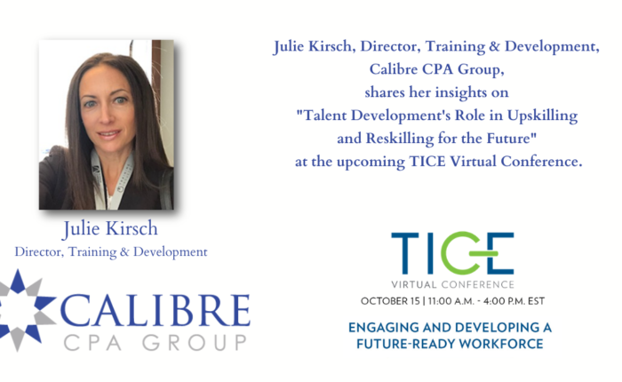 alibre CPA Group's Julie Kirsch Speaking at TICE Virtual Conference October 15